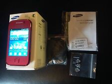 NEW RARE UNLOCKED PINK SAMSUNG GALAXY YOUNG GT-S5360 SMARTPHONE~CHEAP!!!