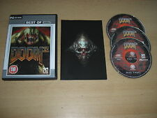 DOOM 3 Pc Cd Rom DOOM3 III with Manual  FPS - Fast Dispatch