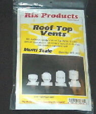 Ho scale Roof Top Vents kit Rix Products 628-610 Made in U.S.A Scenery