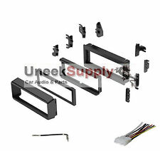 Radio Stereo Install Installation Single Din Dash Kit w/ Wire Harness + Antenna