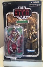 FIGURINE KENNER HASBRO 2010 GÉNÉRAL GRIEVOUS VC17 STAR WARS VINTAGE COLLECTION