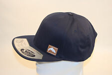 Simms Ajustable Flexfit Twill Snap Back Cap in Navy with Free Decal