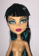 Monster High 13 Wishes Desert Frights Oasis Cleo de Nile Nude Doll NEW to OOAK