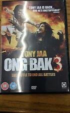 ONG BAK 3  DVD   TONY JAA