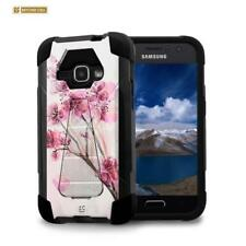 For Samsung Galaxy Express 3 / Amp 2 / J1 Anti-Shock Case w/Stand Skin Cover