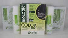 Naturerbe COLOR ERBE bio Tinta TINTURA capelli 60ml biologica color 2 NERO BLU