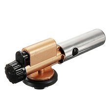 Portable Gas Torch Jet Flame Maker Gun Lighter Butane Weld Burner for Picnic BBQ