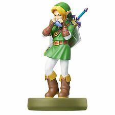 Amiibo The Legend of Zelda Link Ocarina of Time Nintendo 3DS Wii U Japanese ver