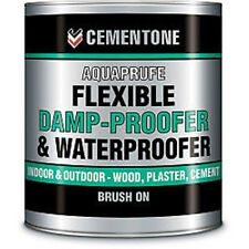 Cementone Aquaprufe 5L Damp proofer water proofing paint Solvent free odourless