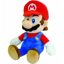"NEW OFFICIAL San-Ei Super Mario Mario Nintendo 10"" Cuddly Plush Soft Toy / Teddy"