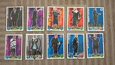 10 MATCH ATTAX SIGNED MANAGER CARDS