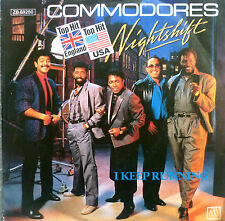 "7"" 1984 KULT ! THE COMMODORES : Nightshift // MINT- \"
