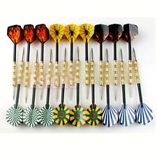 18 pcs (6 sets) Flight Steel Tip Dart Darts With Nice Flights