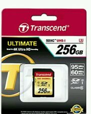 Brand New Transcend Micro SD Card 256GB Class10 Memory Card Flash Memory