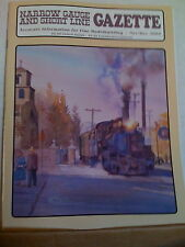 NARROW GAUGE & SHORT LINE GAZETTE   Nov/Dec 2000 NG&SLG