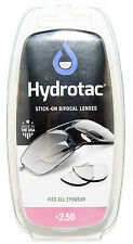 HydroTac Stick-On Magnifying Lenses/Stick-On Bifocal Reading Lenses/+2.50D