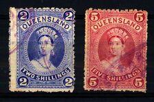 QUEENSLAND - 1882-1886 - Regina Vittoria