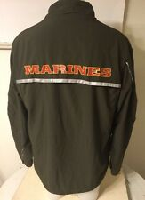 USMC Issue NEW BALANCE PT MARINES Running Suit ZIP UP JACKET M XLong Broken Zip