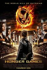 THE HUNGER GAMES Movie Poster - Full Size 24x36 ~ Jennifer Lawrence Hutcherson