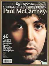 Rolling Stone PAUL McCARTNEY Special Collectors Edition 40 Years Beatles Photos