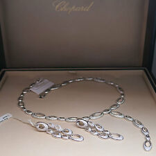 Exclusive Chopard Ohrhänger Ohrringe mit 392 Diamanten 2,09ct FC UVP. 30.770,- €