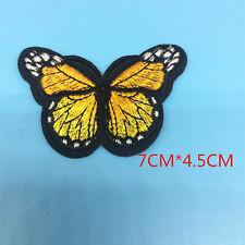 1 Butterfly Applique Embroidery Clothes Patch Decoration Sew On Patches Lace   b