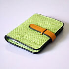 Women's Real Leather Business/Credit Card Holder Case Wallet