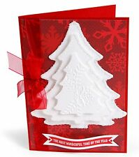 Sizzix Framelits Christmas Tree set #657944 Retail $19.99 4 Perfect Trees
