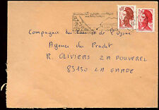 France 1985 Commercial Cover #C37996