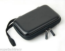 Black EVA Case for External Portable Hard Drive Suitable for Hitachi Seagate