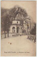 BAGNI DELLA PORRETTA - LA MADONNA DEL PONTE (BOLOGNA) 1918