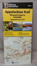 National Geographic TI Appalachian Trail ME Pleasant Pond to Katahdin Map 1513
