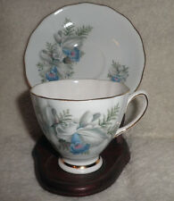 Vintage Colclough Bone China Footed Tea Cup and Saucer Made in England