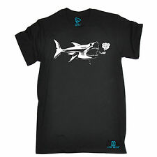 Official Open Water Where Are The Big Fish T Shirt - Scuba tee