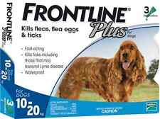 Frontline Plus For Dog 23-44 lbs (for 10-20 Kg) 3 Month (Doses) Flea Control