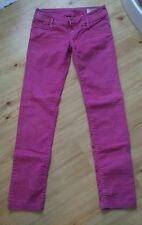 Diesel hot pink matic jeans size 29-leg 32