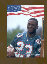 1992 All World TROY VINCENT Miami Dolphins Rookie Rare Insert Card