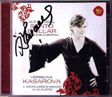 Vesselina KASAROVA Signiert HANDEL SENTO BRILLAR Alcina Ottone CD Alan Curtis