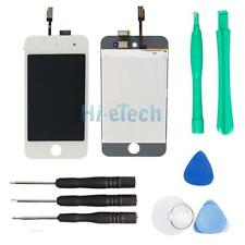 White LCD Digitizer Display Front Screen Touch Assembly for iPod Touch 4th Gen