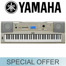 Yamaha 76 Key Full Size Keyboard Piano Style Silver w/ Stand YPG235MS - NEW!