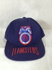 Teamsters Hat Brotherhood Locomotive Engineers Trainers Cap