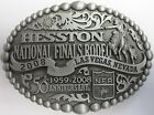 Hesston 2008 Adult National Finals Rodeo NFR AGCO PRCA Cowboy Buckle, New