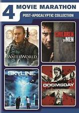 4-Movie Marathon: Post-Apocalyptic Collection (DVD, 2 DISC)