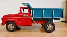 Vintage Tonka Toys Pressed Steel Dump Truck Red & Blue Mound. Minn.