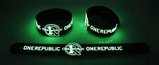 OneRepublic NEW! Glow in the Dark Rubber Bracelet Wristband Counting Stars gg212