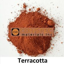 25 lbs TERRACOTTA Concrete Curbing Color Pigment Dye Cement Molds Tile Pottery