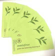 Innisfree Sample Green Tea Balancing Cleansing Oil x 30ea Combination Skin