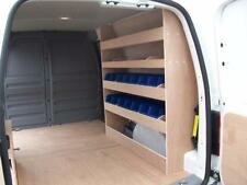 VW Caddy Maxi Van racking Plywood Shelving with storage bins