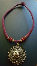 Exotic, Indian Pendant,  Choker, NECKLACE
