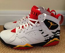 Nike Air Jordan VII 7 Retro PREMIO BIN 23 WHITE RED BLACK YELLOW 436206-101 12